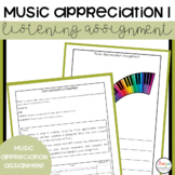 Music Appreciation Project 1