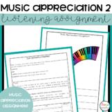 Music Appreciation 2 Comparison Assignment