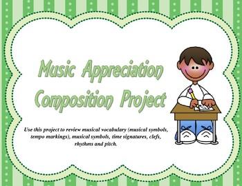 Music Appreciation Composition Project