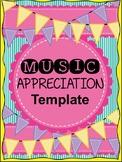 Simple Music Appreciation Template