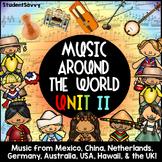 Music Around the World II: Music Activities Mexico Austral