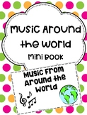 Music Around the World Mini Book