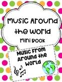 Music Around the World Mini Book