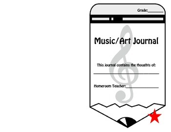 Music/Art Journal