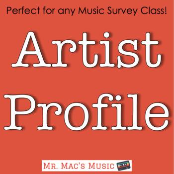 Music Artist Profile