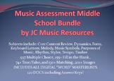 Premium Music Multiple Choice Test Question Bank MS Bundle, Plus 47 Tests