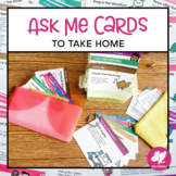 Music Ask Me Cards - Take Home Notes for Parents - First S