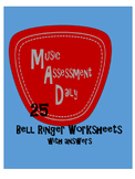 Music Assessment Daily -- 25 Bell Ringers with Answers
