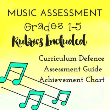 *MUSIC* Assessment Guide Grades 1-5