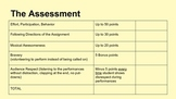 Music Assessment - Performance Rubric