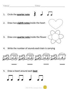 Elementary Music Assessments (74 Music Worksheets for Grades K-5)