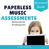 Music Assessments for Kindergarten