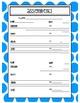 Music Assignment Sheet: Polka Dot Themed