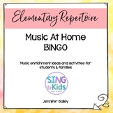 Music At Home Bingo