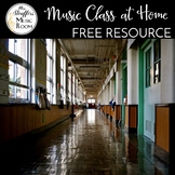 Music At Home {Distance Learning for Music Class}