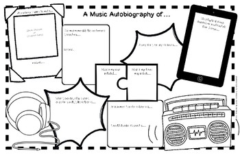 Music Autobiography:  a sequel to Music All-About-Me