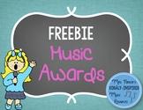 Music Awards {FREE}