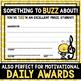 Bee-Themed Music Awards *EDITABLE*