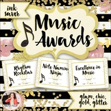 Music Awards {Chic & Glam, Editable, Ink-Saver}