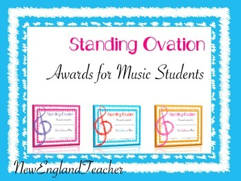 Music Awards for Elementary Students