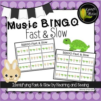 Music BINGO-Fast & Slow