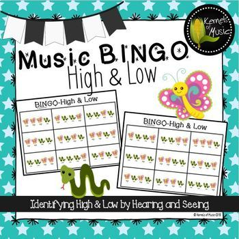 Music BINGO-High & Low