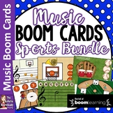 Music BOOM CARDS Sports Bundle
