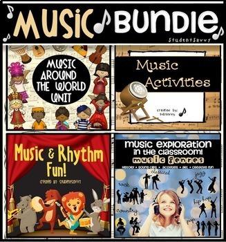 Music Activities Bundle