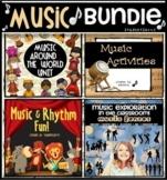 Music Worksheets Activities Bundle