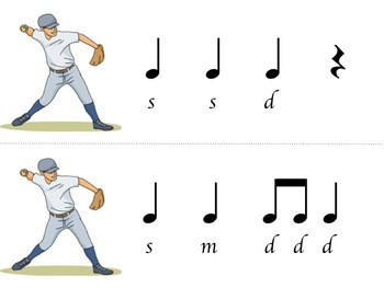 Music Baseball, level 2