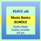 Music Basics Worksheet and Quiz ♫ ♫ ♫  (+ Answer Key)