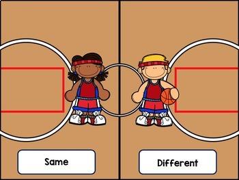 Music Basketball: A Same/Different Rhythm Game