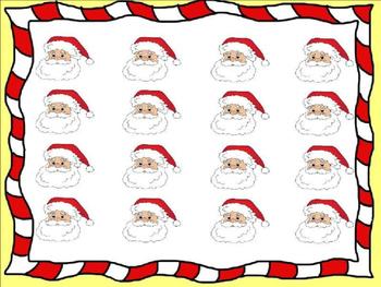 Music Be Santa - EDITABLE TEXT BOX EDITION (PPT FORMAT)