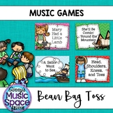 Music Bean Bag Toss Game