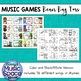 Music Bean Bag Toss Game