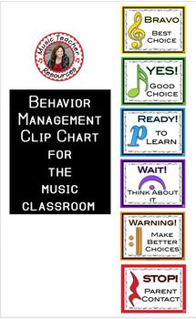 Music Behavior Chart
