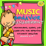 Music Behavior Management (Elementary Music Classroom Mana