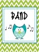 Music Binder Covers - Owl Themed