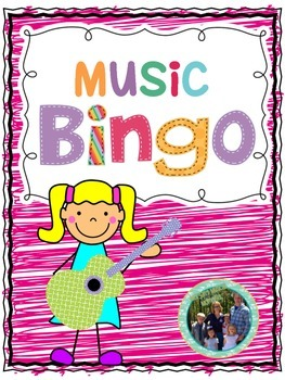 Music Game Bingo