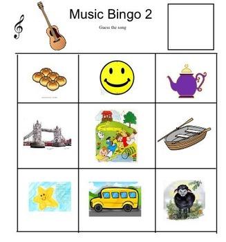 Music Bingo 2