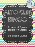 Music Bingo {Alto Clef Note Naming}