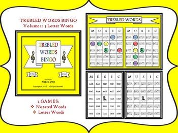 Music Bingo Bundle