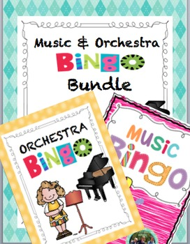 Music Bingo Bundle