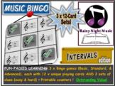 Music Bingo Intervals