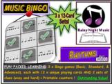Music Bingo Rhythms