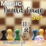Music Games: Board Game Set {A GREAT Variety of Games for the Music Room}
