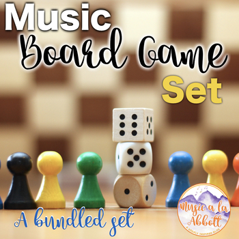 Music Board Game Set {A GREAT Variety of Games for the Mus