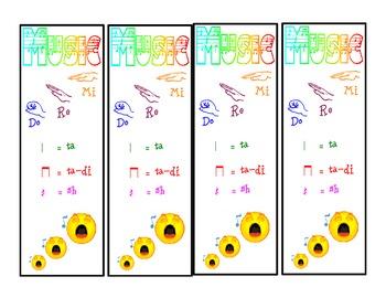 Music Bookmarks