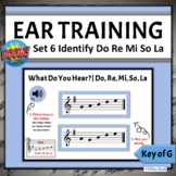 Music Boom Cards   Melodic Ear Training Game   Set 6 - Do