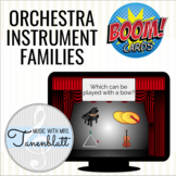 Music Boom Cards: Orchestra Instrument Families